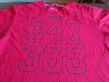Georgia Bulldogs Nike 365 / 247 Athletic T Shirt Red XL Regular Fit  T5