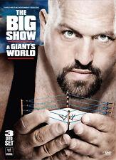 WWE THE BIG SHOW A Giant's World 3x DVD DEUTSCHE VERKAUFSVERSION