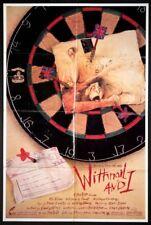 WITHNAIL & I BRUCE ROBINSON RALPH STEADMAN ART 1986 1-SHEET