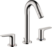 Hansgrohe 71533001 Logis Widespread Bathroom Faucet in Chrome