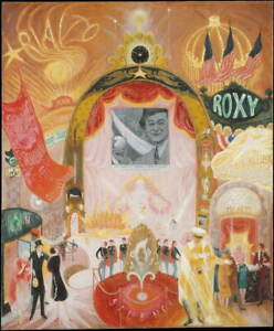 Florine Stettheimer The Cathedrals of Broadway Giclee Paper Print Poster