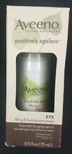 Aveeno - Facial Moisturizers Positively Ageless Lifting Firming Eye Cream 0.5 Oz