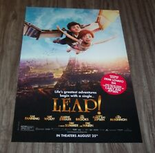 LEAP! MOVIE PROMO POSTER Carly Rae Jepsen Demi Lovato Sia NEW