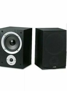 Polk Audio R150 BLACK 2 Way Bookshelf Speakers PAIR ~ BRAND NEW IN BOX