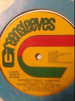 """Wayne Jarrett & Silver Fox-Saturday Night Jamboree 12"""" Vinyl Single 1980 UK COPY"""