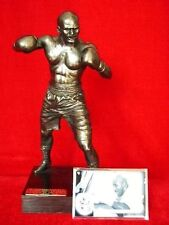 EVANDER HOLYFIELD LEGENDS FOREVER MODEL FIGURINE SCULPTURE FROM THE TYSON FIGHT
