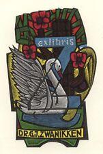 Ex Libris Jan Battermann : Opus 157, Dr. G.J. Zwanikken