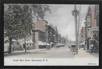 South Main Street Gloversville New York NY 1908 postcard