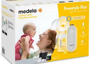 Medela elektrische Milch Pumpe Freestyle Flex Stillen Mutter Milch Brust Stillen