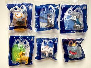 McDonald's Disney 50th Lot of 6 2021 Happy Meal ToysBB8 Dumbo Simba & more