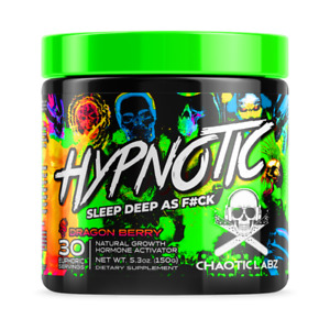 HYPNOTIC BY CHAOTIC LABZ  DEEP SLEEP NIGHT-TIME RELAX, MOOD, MUSCLE RECOVERY