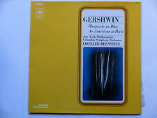 GERSHWIN Rhapsody in blue American in Paris LEONARD BERNSTEIN 75080