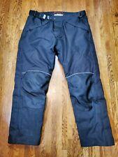 Bilt Typhoon H2O Black Motorcycle Pants Mens Size 38