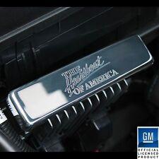 2010-2014 Chevrolet Camaro Heat Sink Cover Heart Beat of America Logo Polished