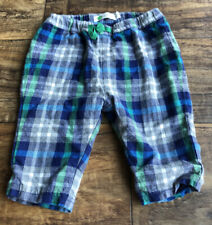 Mini Boden Baby Boys Flannel Pants, 3-6 Months