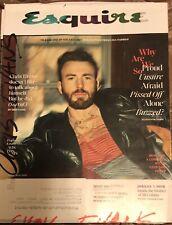 Esquire Magazine (May 2020) Chris Evans