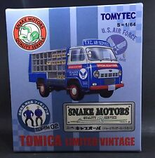 TOMYTEC TOMICA LIMITED VINTAGE TLV-SM 02 U.S. AIR FORCE SNAKE MOTORS 1/64 CAR