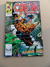 Conan The Barbarian 213 . Marvel 1988 . FN +