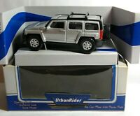 URBAN RIDER - DIECAST - HUMMER - SILVER - 77544 - BOXED