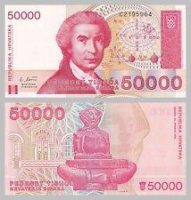 Croazia/Croatia 50000 Dinara 1993 p26a unz.