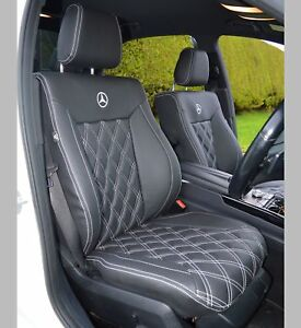 Mercedes E Class W212 AMG Tailored Diamond Quilted Car Seat Covers 2010 - 2016