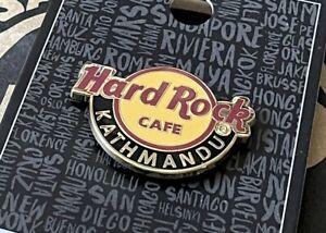 Hard Rock Cafe KATHMANDU HRC • classic logo core series pin • NEW