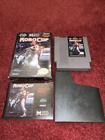 Robocop Nintendo NES CIB Complete In Box & TESTED! VERY NICE BOX! Vr Good Cond.!