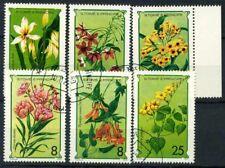Saint Thomas and Prince Islands 1979 Mi. 568-573 Used 100% flowers Nature lles