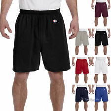 """Champion Mens Cotton Shorts 6"""" Inseam Gym Athletic Basketball Workout S-3XL 8187"""
