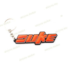 Keyring Motor Bike Rubber Keychain Key Chain Key Ring Gift For KTM DUKE