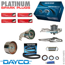 TIMING BELT KIT, WATER PUMP & PLATINUM PLUGS - for Toyota Camry 2.0L 3SFC 3SFE