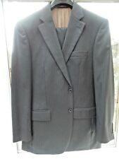 Pierre Cardin - 40/42 chest  - 34 waist - Grey/Brown mix Gold pinstripe all Wool