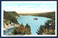 Steamer on the Penobscot River, Bangor, Maine