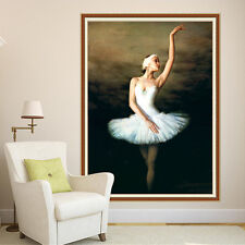 DIY Ballet Dancing Girl 5D Diamond Painting Draw Embroidery Cross Stitch Kits