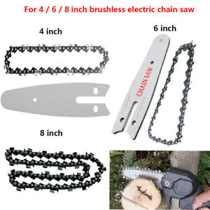 Chainsaw Chain For 4 / 6 / 8 inch Mini Electric Chainsaw Woodworking Cutter FS