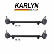 For BMW E24 E28 E32 E34 Set Of 2 Tie Rod Assembly Left+Right KARLYN Brand New