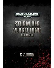 Warhammer 40k Tormenta der retribución ( der Novela) von G Z Dunn Alemán