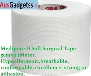 Medipore H Soft Tape 5cmx9.1M Hypoallergenic Eyelash Extension x 1piece