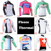 Cycling Thermal Long Sleeve Jerseys Race Fit Coats Winter Jacket Bicycle Clothes