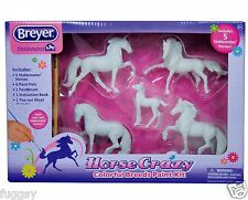 BREYER Horse Crazy Colourful Breeds Painting Stablemates 1:32 Scale 4198