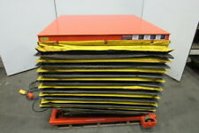 Presto Lee 4xw36 20 2000lb Hydraulic Scissor Lift Table 48x48 8 43h 115v