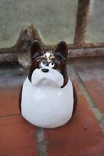 """Launemacher - Deko:  Süße Figur  """"Französische Bulldogge"""" aus Keramik"""