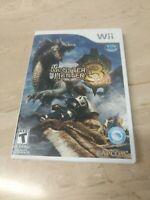 Monster Hunter Tri Nintendo Wii Capcom
