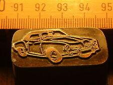 VW Karman ghia tipo 14 bonito Oldtimer sello/sello de metal