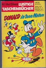 LTB Nr. 7 Zustand (1-2) 1.Auflage 1969 Disney Lustiges Taschenbuch ERSTAUFLAGE