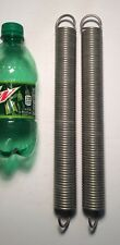 """.135"""" Wire Extension Spring Lot Of 2"""