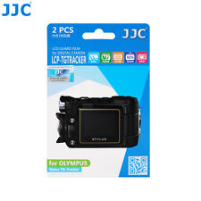 JJC LCD Guard Film Camera Screen Display Protector For Olympus Stylus TG-Tracker