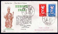 EUROPA CEPT FDC 1958 ITALIE 2