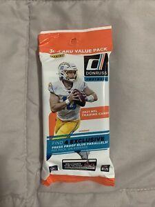 2021 Donruss NFL Cello Fat Pack. 30 cards. 🔥