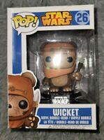 Funko Star Wars Wicket #26 Blue Box Vaulted 1st Run JJL140502 2013
